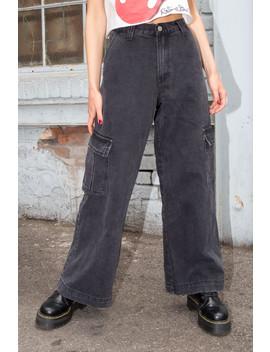 tatum-cargo-jeans by brandy-melville