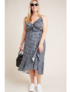 Allison Gingham Wrap Dress by Hutch