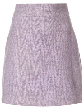 Diagonal Stripe Serena Mini Skirt by Bambah