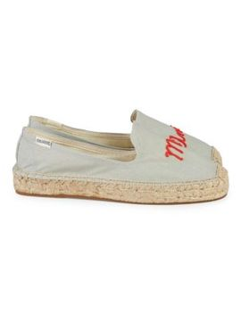 Mon Amour Espadrille Smoking Slippers by Soludos