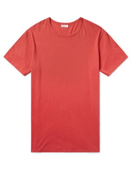 Johann Cotton Jersey T Shirt by Schiesser