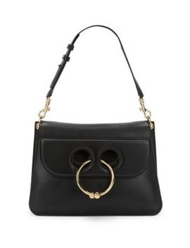 Flap Leather Top Handle Bag by Jw Anderson