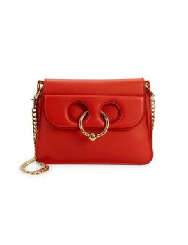 Ring Leather Shoulder Bag by Jw Anderson