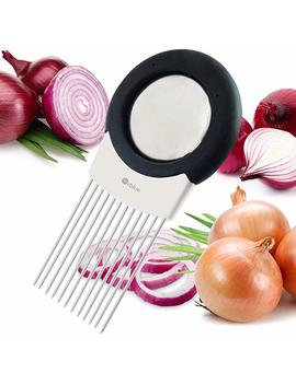 Orblue All In One Onion Holder, Odor Remover, Slicer, Cutter &Amp; Chopper by Orblue