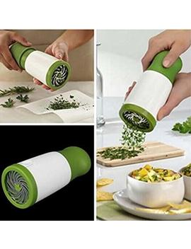 Drhob 1 Pc Herb Mill Chopper Cutter Mince Stainless Steel Blades Safely New ( Color: White &Amp; Green) by Drhob