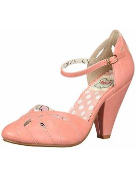 Bettie Page Women's Bp403 Sally Pump by Bettie Page