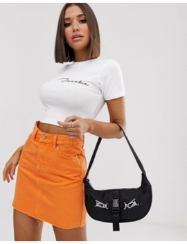 Missguided Slogan Cropped T Shirt In White by Missguided