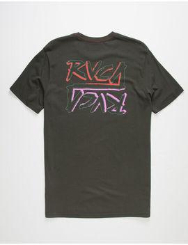 Rvca Offset Mens T Shirt by Rvca