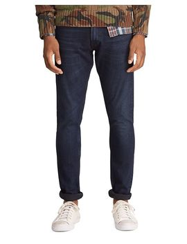 Stretch Sullivan Slim Fit Jeans In Black by Polo Ralph Lauren