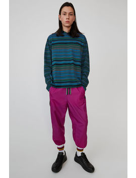 Track Pants Magenta Pink by Acne Studios