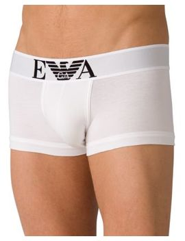 Men's Stretch Cotton Trunk by Emporio Armani