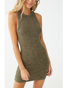 Sleeveless Bodycon Mini Dress by Forever 21