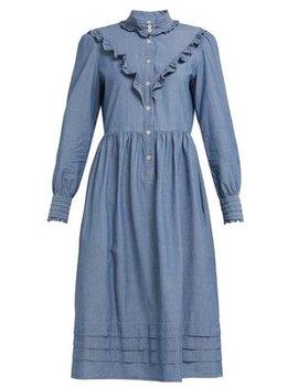 Nicks Chambray Midi Dress by A.P.C.