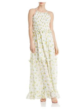 Vintage Marigold Maxi Dress by Betsey Johnson