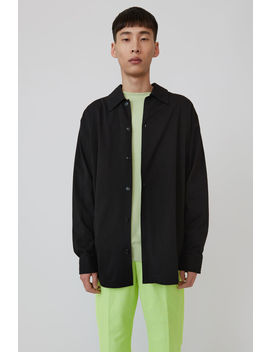 Relaxed Fit Shirt Black by Acne Studios
