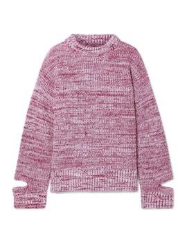 Mélange Wool Turtleneck Sweater by Maison Margiela