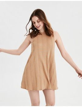 Ae Striped Cut Out Dress by American Eagle Outfitters