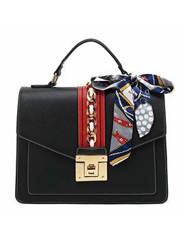 Scarleton Large Top Handle Satchel Handbag H2065 by Scarleton
