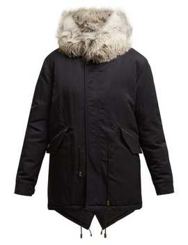 Fox Fur Hooded Parka by Mr & Mrs Italy