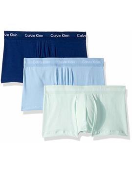 Calvin Klein Men's Cotton Stretch 3 Pack Trunks by Calvin Klein