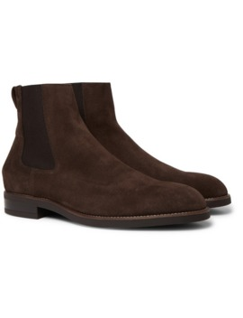 Canon Suede Chelsea Boots by Paul Smith