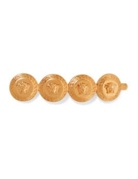 Gold Tone Hair Slide by Versace