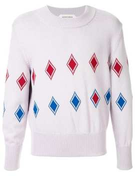 Geometric Knit Sweater by Namacheko