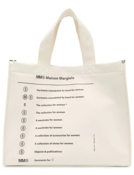 Classic Brand Shopper Bag by Mm6 Maison Margiela