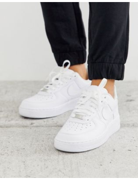 Nike White Air Force 1 '07 Trainers by Nike