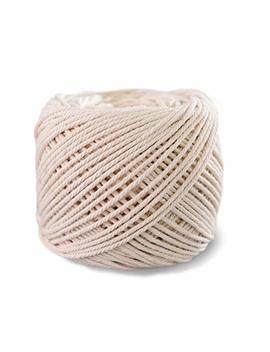 Suntq Macrame Cord 4 Strand Twisted 100% Natural Cotton (3mm X 328 Feet) Soft Cotton Rope For Handmade Plant Hanger,Wall Hanging,Crafts,Knitting,Decorative Projects Original Color Cotton String by Suntq