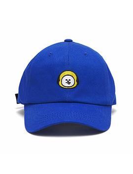 Line Friends Bt21 Official Merchandise Character Baseball Cap Hats For Men And Women by Line Friends