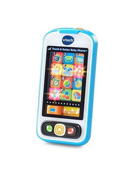 V Tech Touch And Swipe Baby Phone, Blue by V Tech