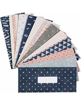 12 Budget Envelopes. Laminated Cash Envelope System For Cash Savings Plus 12 Budget Sheets. by Lamare