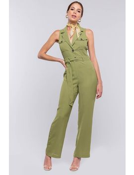 Bellina Utility Jumpsuit by A'gaci