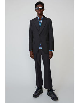 Tailored Suit Jacket Black/Grey by Acne Studios
