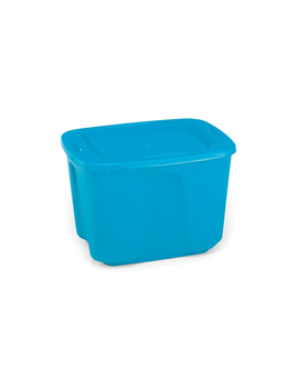 Homz Products 18 Gallon Storage Tote   Blue Homz Products 18 Gallon Storage Tote   Blue by Kmart