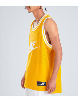 Men's Nike Sportswear Statement Mesh Jersey Tank by Nike