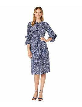 Diane Long Sleeve Shirred Maxi Dress by Bobeau