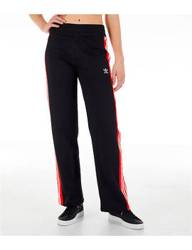 Women's Adidas Originals Wide Leg Track Pants by Adidas