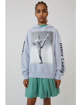 Sweatshirt à Imprimé Photo Bleu Pâle by Acne Studios