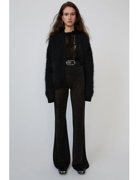 lurex-trousers-black by acne-studios