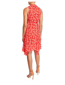 Carmen Floral Handkerchief Dress by Diane Von Furstenberg