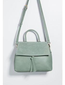 Taken Tastefully Satchel by Modcloth