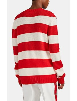 Block Striped Wool Sweater by Calvin Klein 205 W39 Nyc