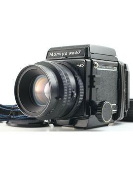 【N Mint+!!】 Mamiya Rb67 Pro Sd W/ Kl 127mm F/ 3.5 Lens Hood 120 Back From Japan by Mamiya