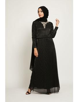 Black Evening Dress by Abayabuth