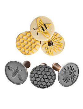 Honey Bee Cookie Press Set by Lakeland