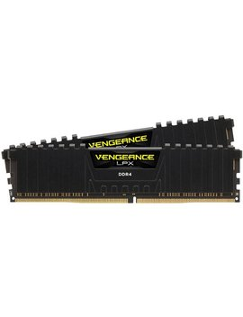 Vengeance Lpx Series 16 Gb (2 Pk 8 Gb) 3.0 G Hz Ddr4 Desktop Memory   Black by Corsair