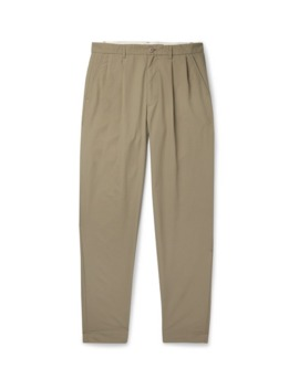Tapered Pleated Ripstop Chinos by Cav Empt