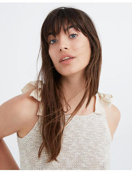Highgate Tie Strap Sweater Tank by Madewell